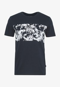 Pier One - T-shirt con stampa - dark blue - 2
