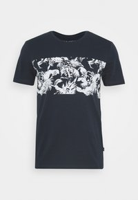 Pier One - T-shirt con stampa - dark blue - 0