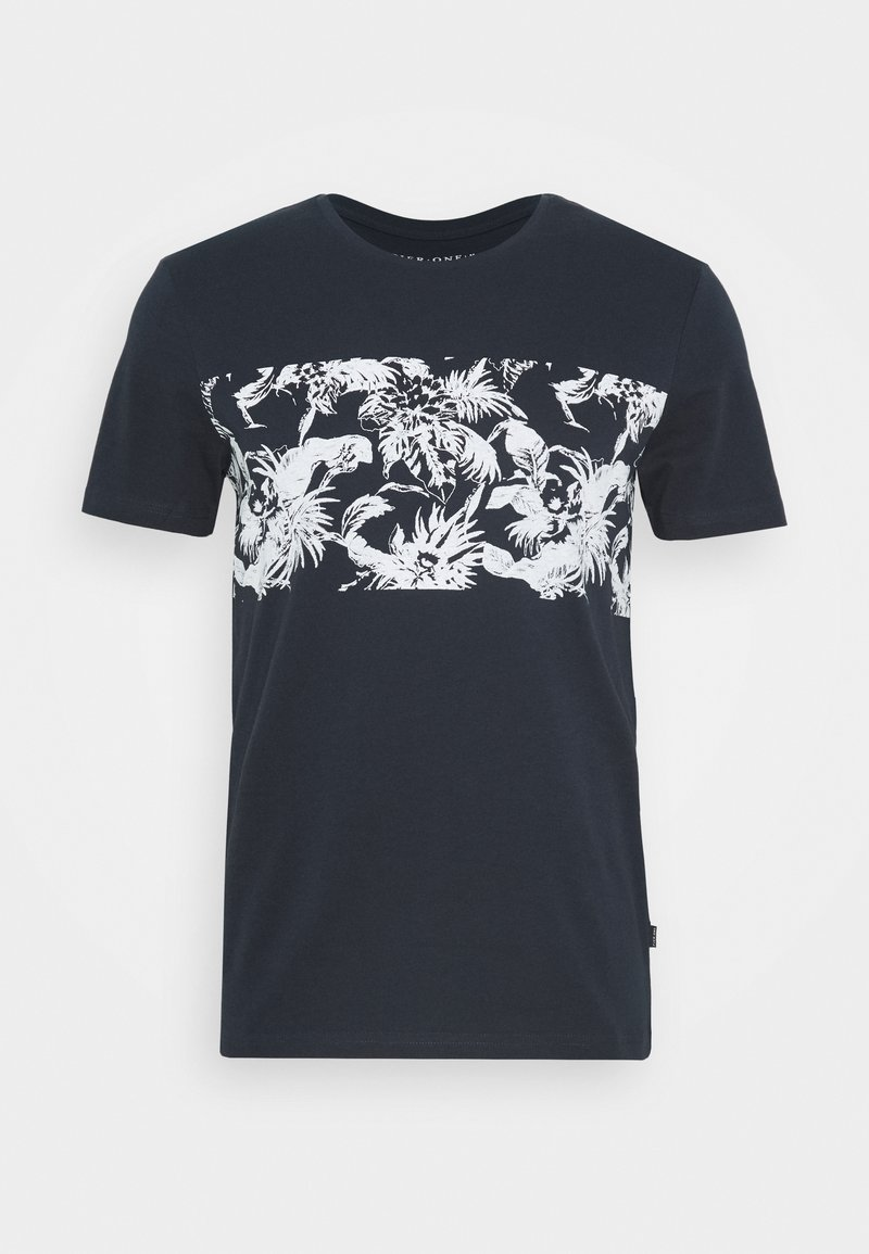 Pier One - T-shirt con stampa - dark blue