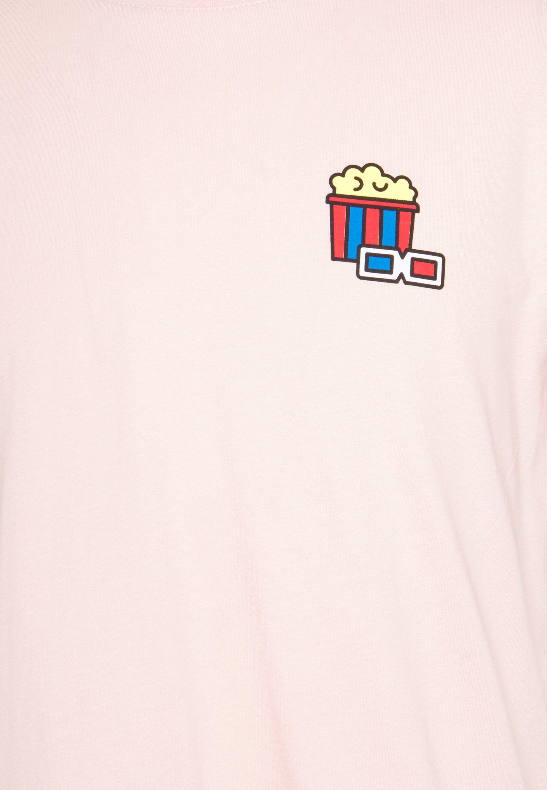 Pier One T-shirts print - pink - Tøj Til Herrer Salg