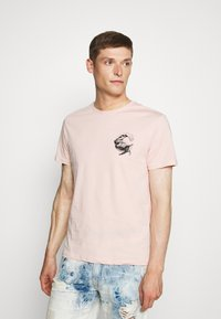 Pier One - Print T-shirt - pink - 0