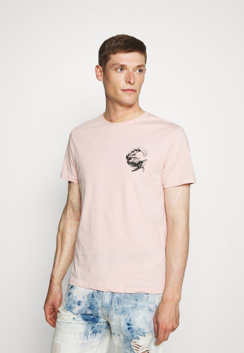 Pier One - Print T-shirt - pink
