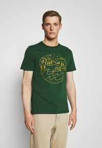 Pier One - T-shirt print - dark green - 0