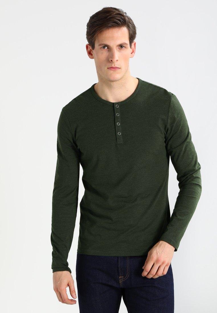Pier One - Maglietta a manica lunga - khaki