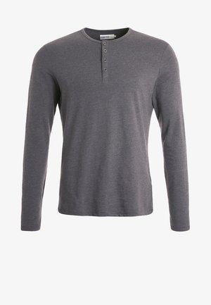Long sleeved top - dark grey melange