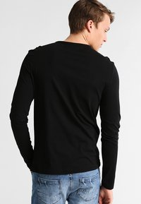 Pier One - Camiseta de manga larga - black - 2