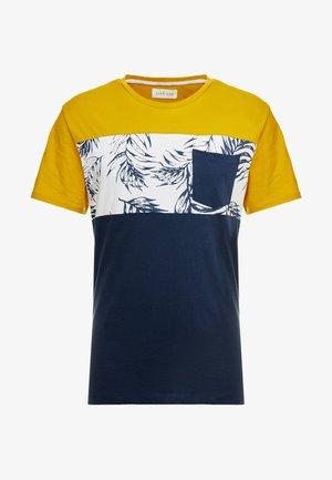 Camiseta estampada - mustard