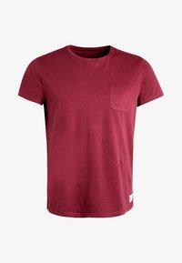 Pier One - T-shirt basic - bordeaux - 5
