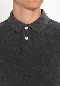 Pier One - Polo shirt - dark grey melange - 4