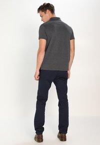Pier One - Polo shirt - dark grey melange - 2