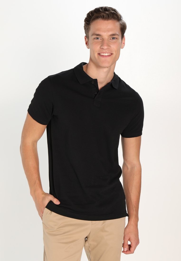 Pier One - Polo shirt - black