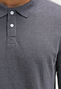 Pier One - Koszulka polo - dark grey melange