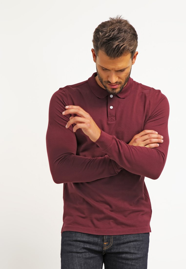Pier One - Polo shirt - bordeaux