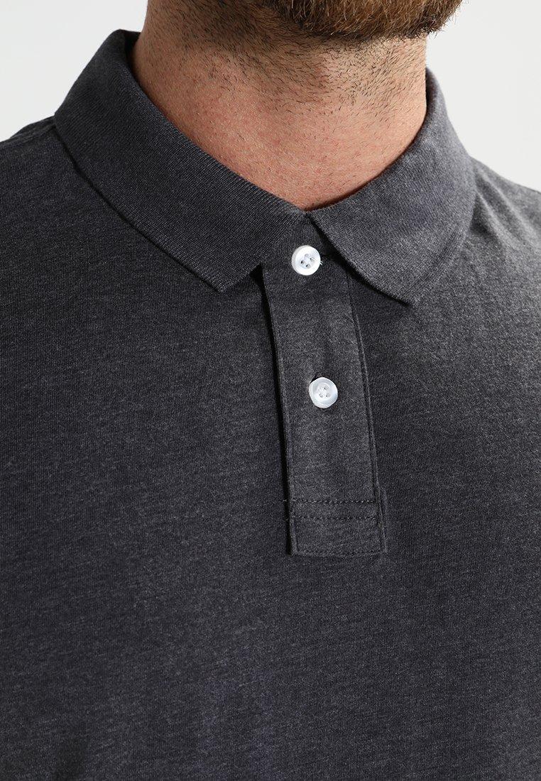 Pier One Poloskjorter - dark grey melange
