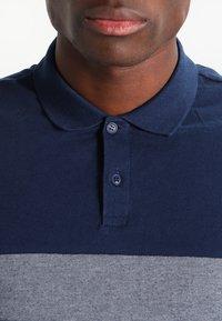 Pier One - Polo shirt - dark blue/mottled grey - 3