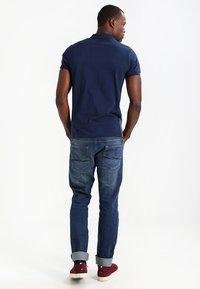 Pier One - Poloshirt - dark blue/mottled grey - 2