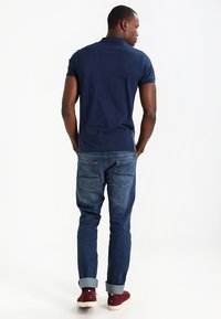 Pier One - Polo shirt - dark blue/mottled grey - 2