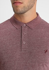 Pier One - Polo shirt - mottled bordeaux - 5