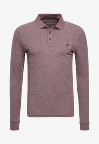 Pier One - Polo shirt - mottled bordeaux - 4