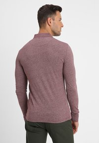 Pier One - Polo shirt - mottled bordeaux - 2