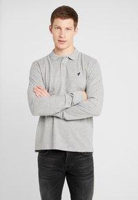 Pier One - Poloshirt - mottled grey - 0
