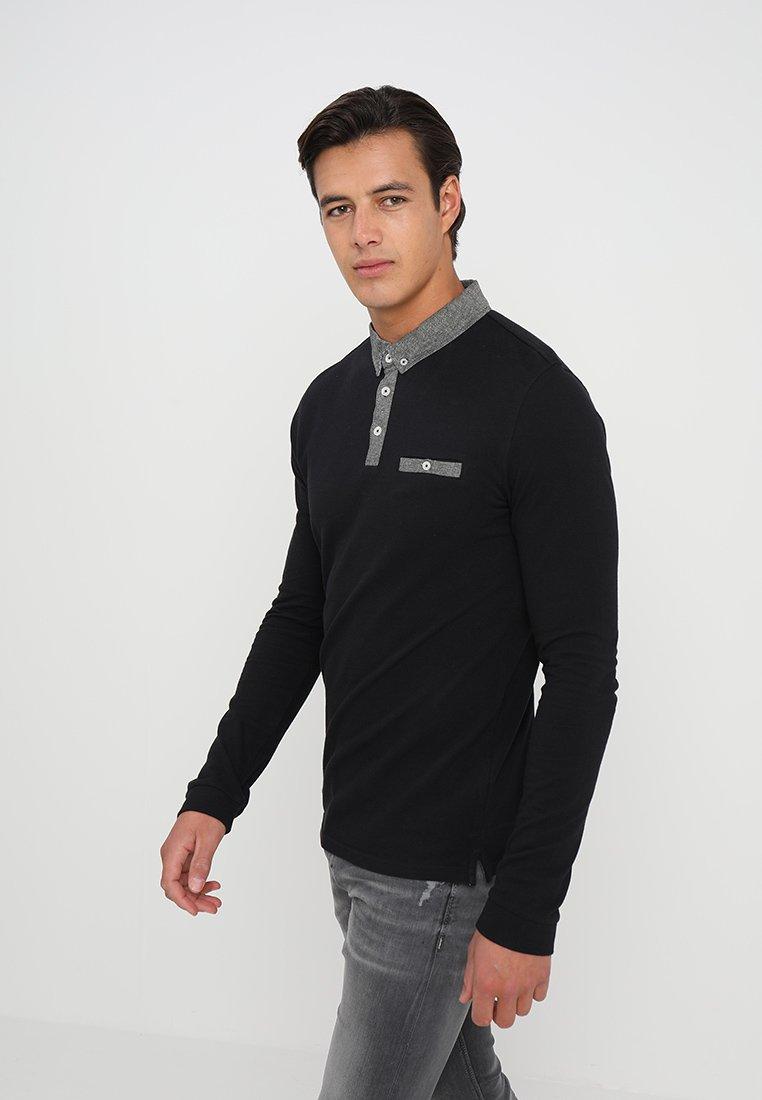 Pier One - Bluzka z długim rękawem - black