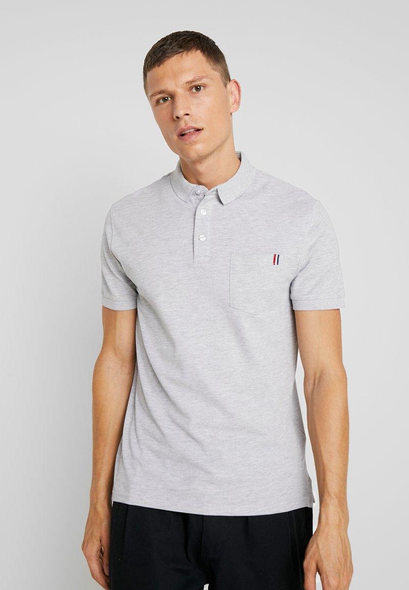 Pier One - Poloshirt - mottled light grey