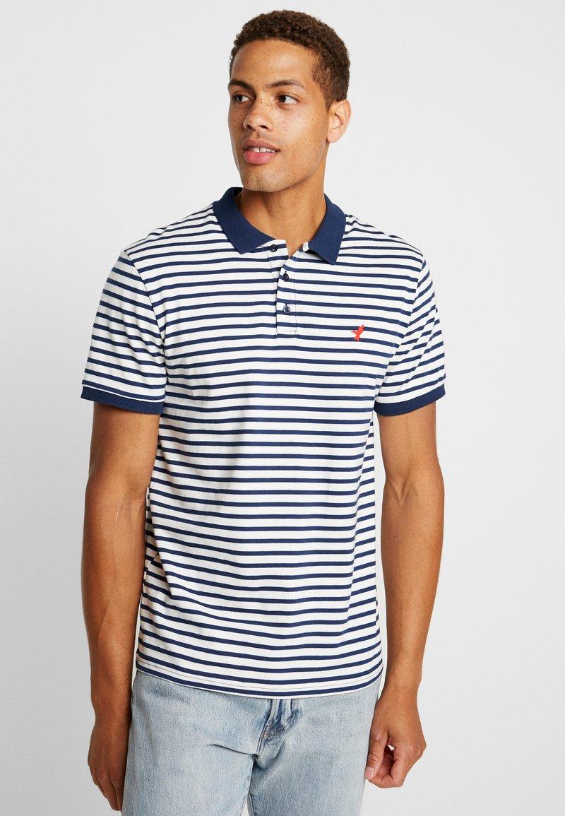 Pier One - Poloshirt - blue/white