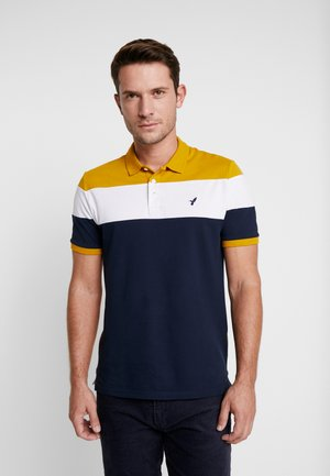 Polo - dark blue/mustard