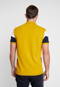 Pier One - Polo shirt - dark blue/mustard - 2