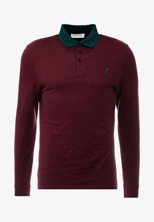 MUSCLE FIT - Polo shirt - bordeaux