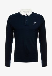 Pier One - MUSCLE FIT - Polo - dark blue - 3