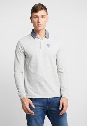 Polo - mottled grey
