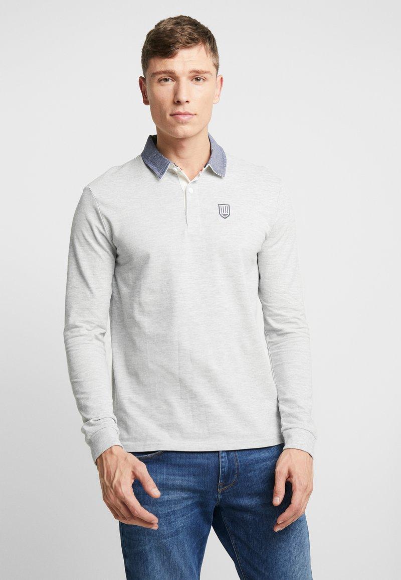 Pier One - Koszulka polo - mottled grey