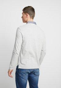 Pier One - Koszulka polo - mottled grey - 2