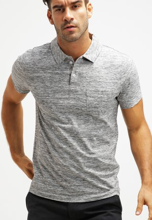 Polo shirt - grey melange