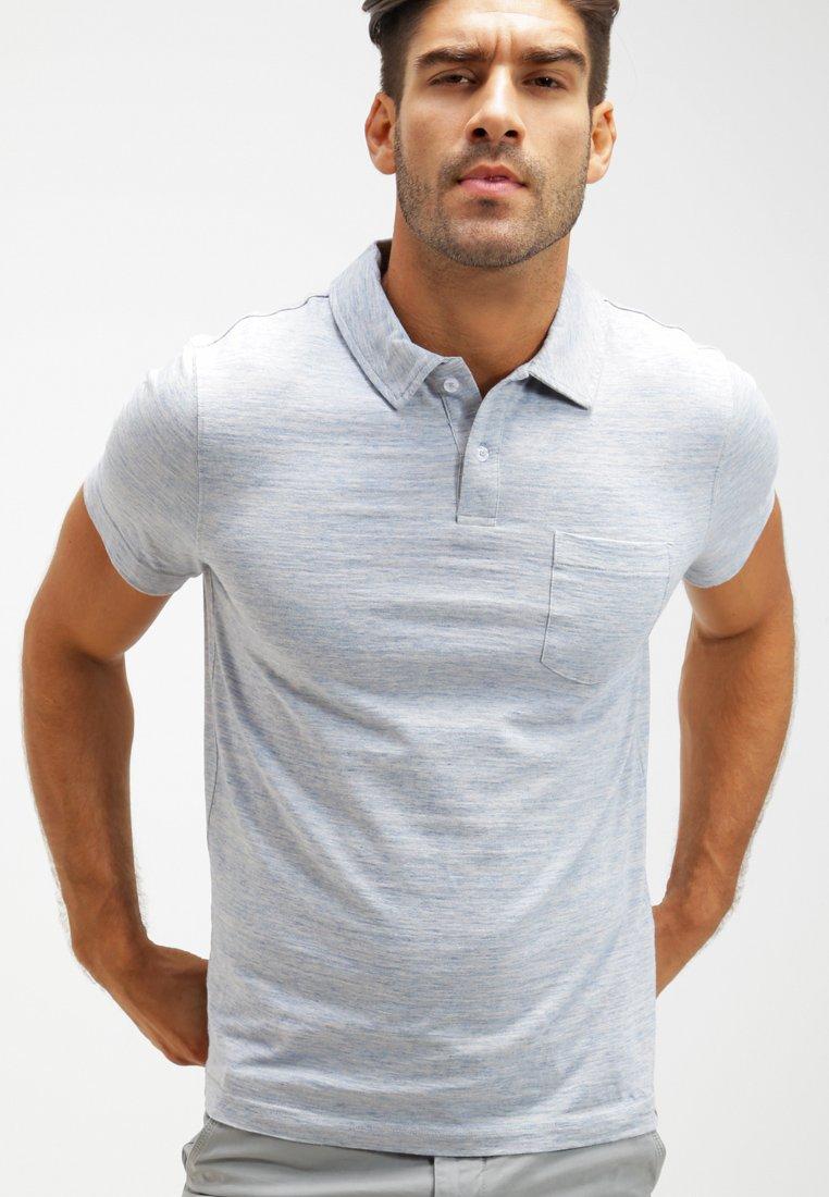 Pier One - Polo shirt - light blue melange