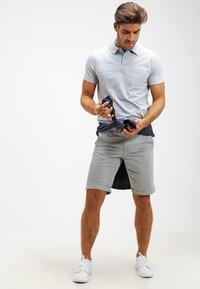 Pier One - Polo shirt - light blue melange - 1