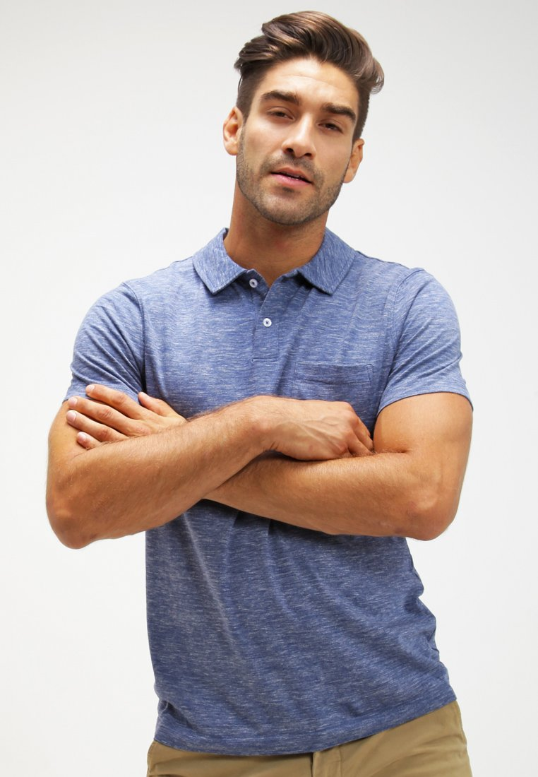 Pier One - Polo shirt - blue melange