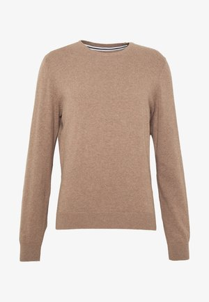 Maglione - mottled beige