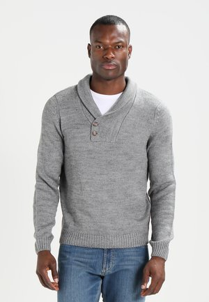 Jersey de punto - grey melange