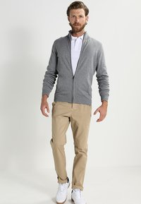 Pier One - Cardigan - grey - 1