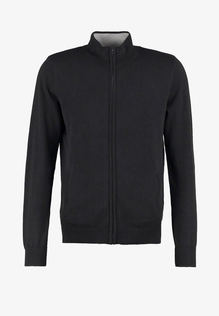 Pier One Cardigan - black sXLoPC vendita online