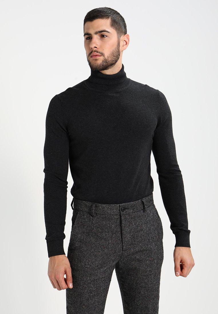 Pier One - Pullover - mottled dark grey