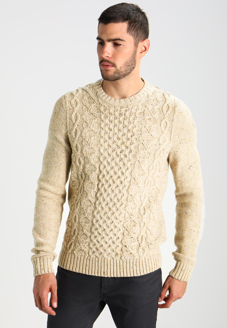 Pier One - Sweter - mottled beige