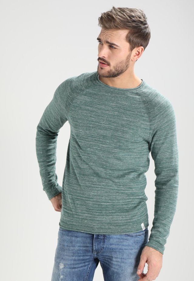 Jersey de punto - mottled green