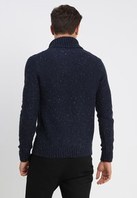Pier One - Neule - mottled dark blue - 2