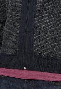 Pier One - Strikjakke /Cardigans - mottled dark grey - 5
