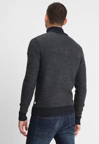 Pier One - Strikjakke /Cardigans - mottled dark grey - 2