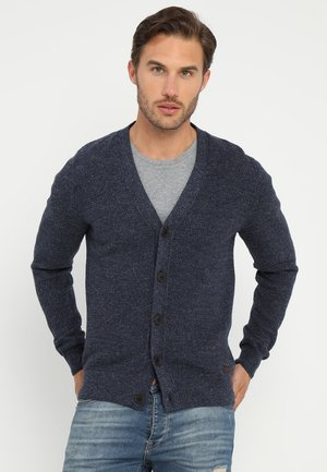 Gilet - mottled blue